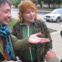 Карин Рейнберг и Александр Хейфец